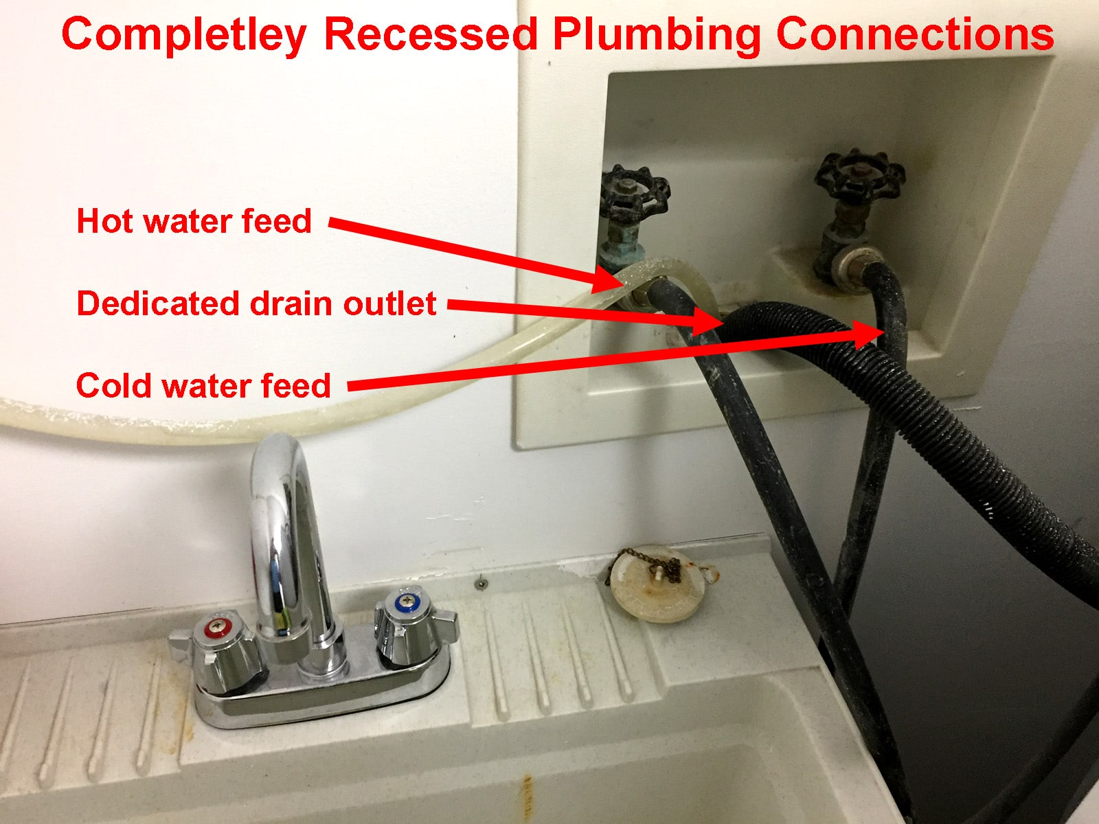 About Your Washing Machine Drain Hose Connections And