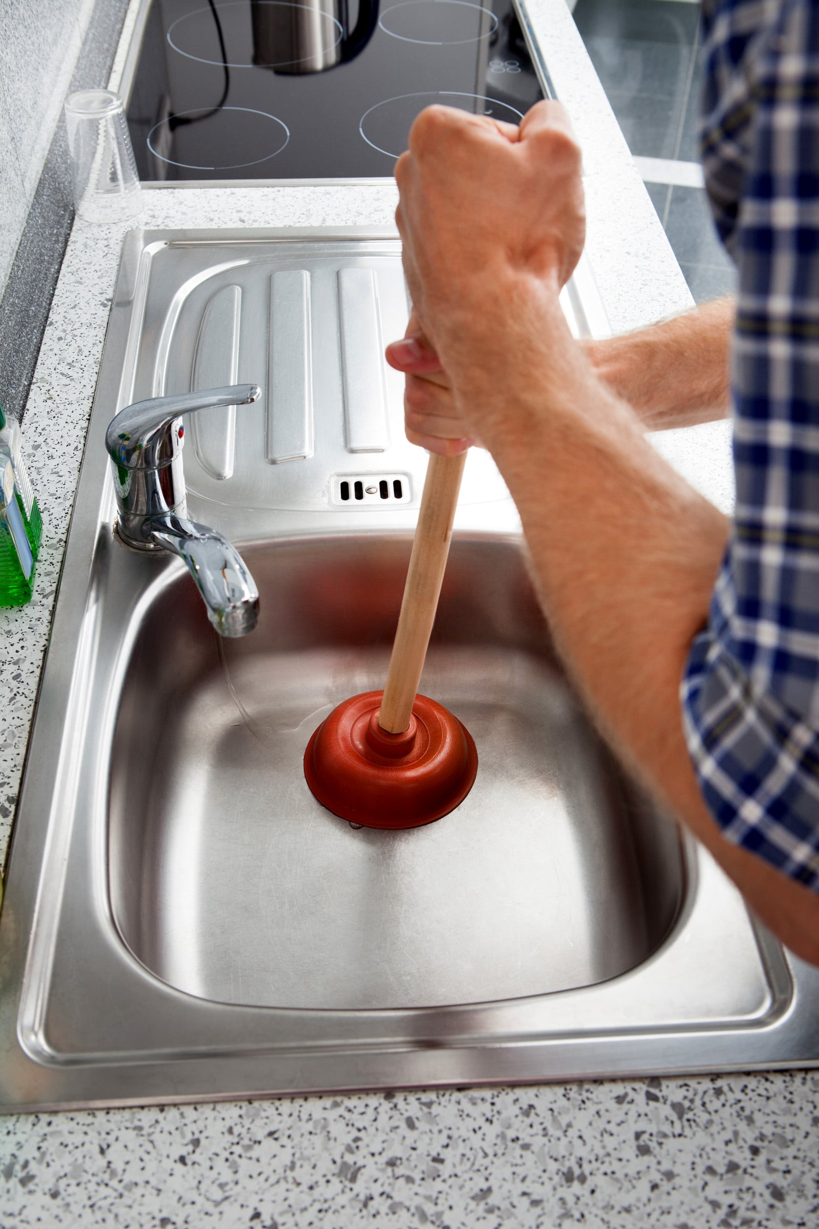 Do I Unclog A Kitchen Sink A clogged sink has many causes many are avoidable clogged sink workwithnaturefo