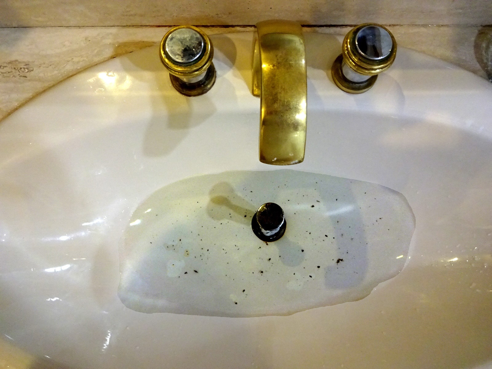 A Clogged Sink Has Many Causes